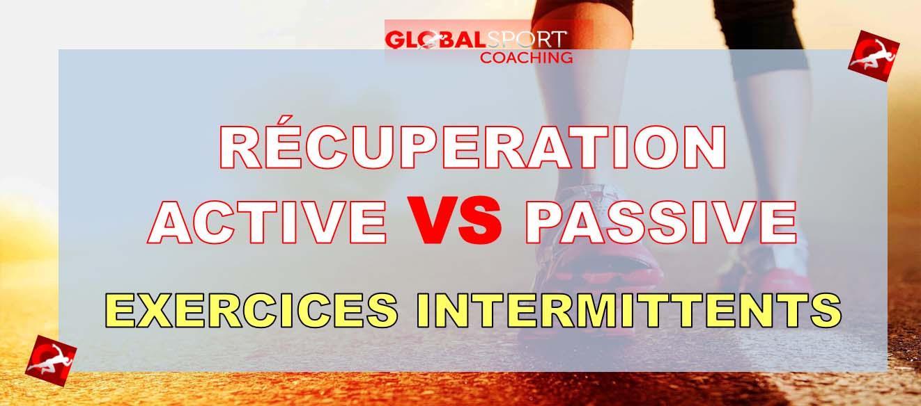 recuperation active ou passive exercice intermittent