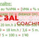 Vitesse maximale aérobie ou VMA, calculer l'intensité de course