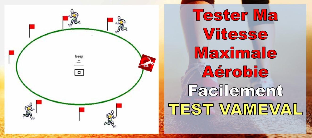 tester votre vma vam eval aerobie test leger