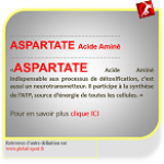 Aspartate acide aminé source d'énergie