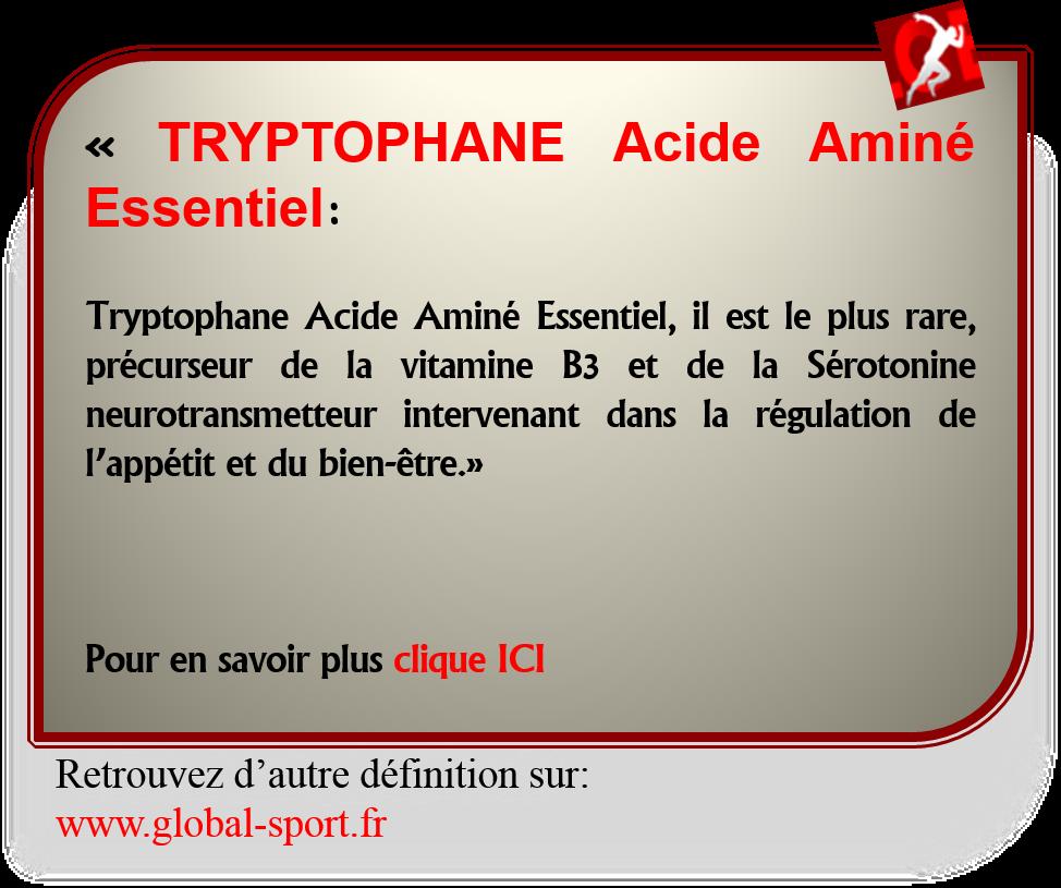 tryptophane-acide-amine-essentiel-serotonine
