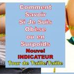 Comment Savoir Si Je Suis Obèse Ou En Surpoids?  | Rapport Tour de Taille Sur Taille