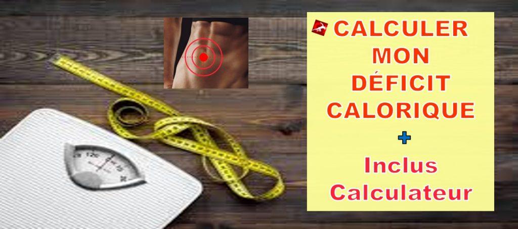 pourquoi je grossis deficit calorique